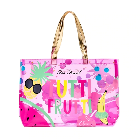 Too Faced Handbags - 💜Tutti Fruity Tote! 💜Great Beach Bag! 💜